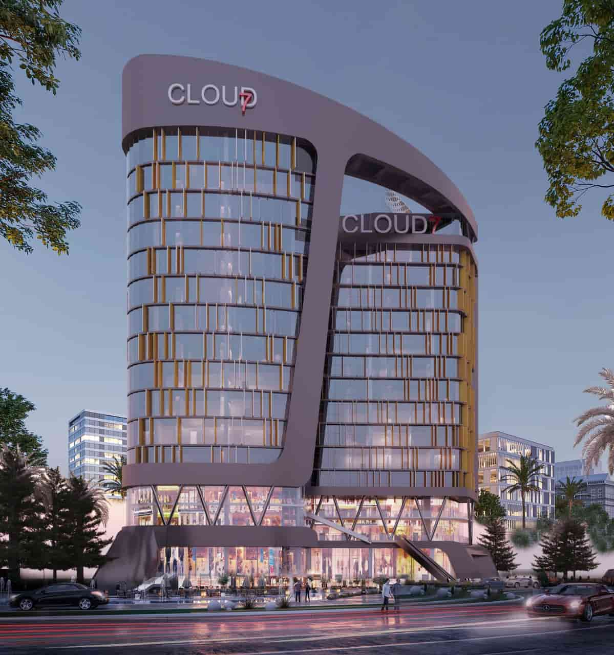 كلاود 7 العاصمة الادارية الجديدة