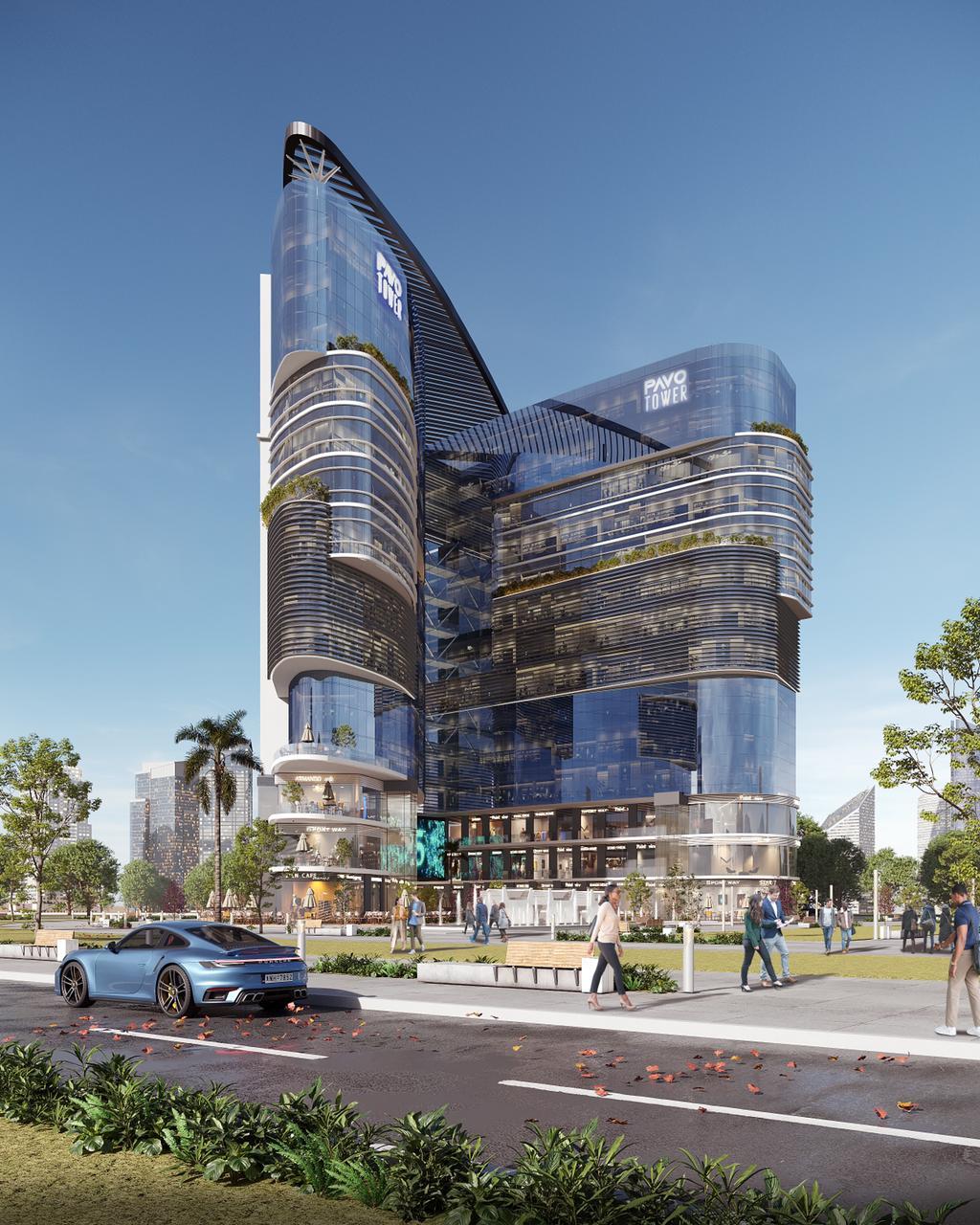 بافو تاور العاصمة الادارية الجديدة